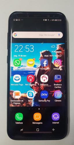 celular samsung s8 plus - usado