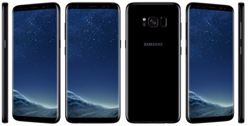 celular samsung s8 sm-g950f 64gb 4k liberado m. black u.s.a
