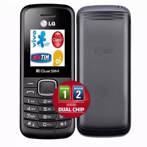 celular simples barato lg b220 dual chip radio fm baratinho