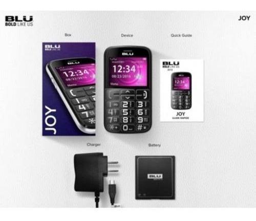 celular simples blu joy ideal p/ idoso e especiais botão sos