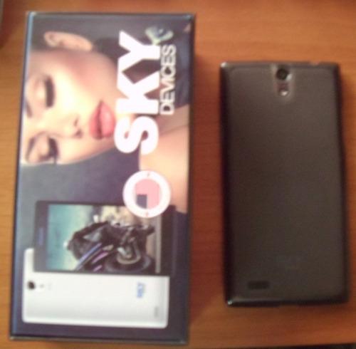 celular sky 5.0, cámara13 mp, memoria 16 gb, (para movistar)