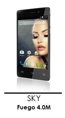 celular sky devices fuego 4.0 4g telefono