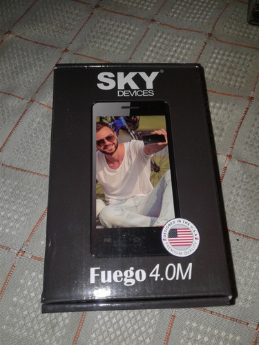 celular sky devices fuego 4.0m. 4gb rom - 512  ram. 5mp+2mp.