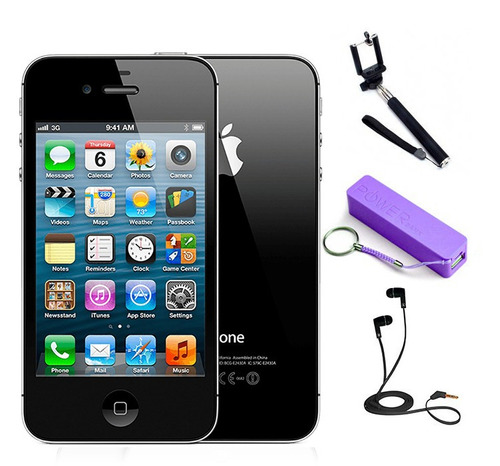 celular smartphone apple iphone 4s negro 8gb