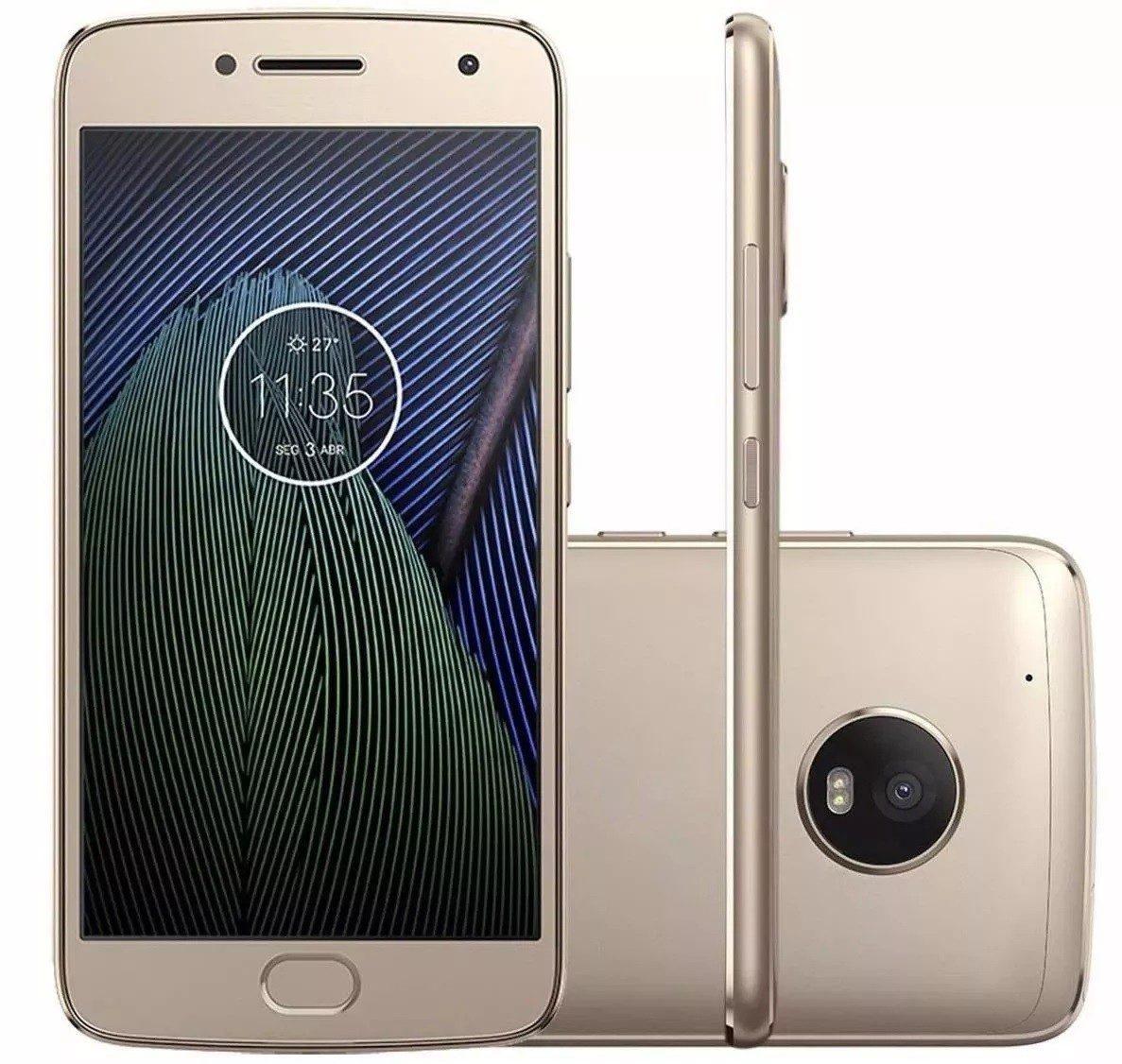 7dc618d21e 5 celular smartphone barato orro moto g5 plus android promoção. Carregando  zoom.