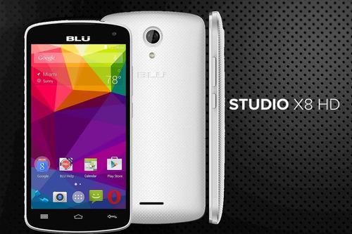 celular smartphone blu studio x8 hd 4gb tela 5.0 só hoje
