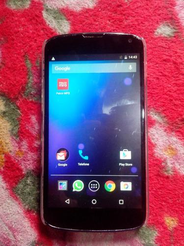 celular smartphone lg google nexus 4 16gb 2gb de ram