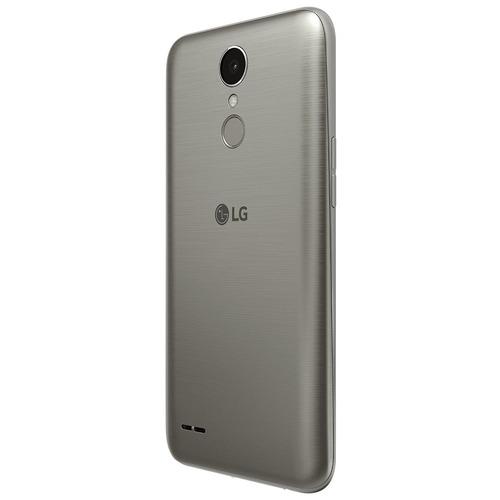 celular smartphone lg k10 2017 titânio - dual chip, 4g