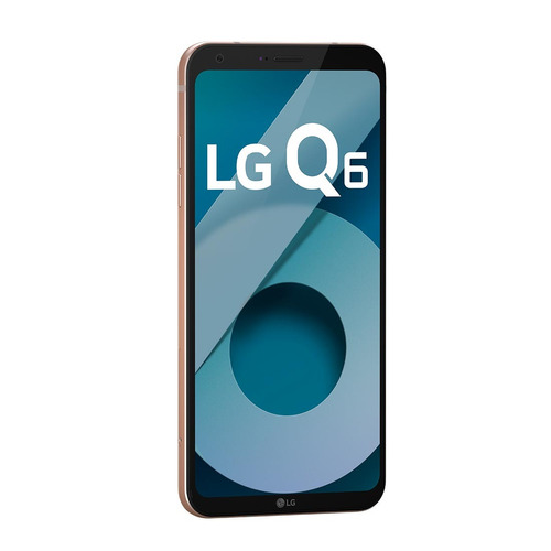celular smartphone lg q6 rose gold - tv digital, dual chip