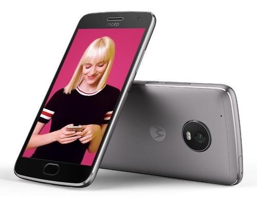 celular smartphone moto g5 plus xt-1680 4g lte - cinza
