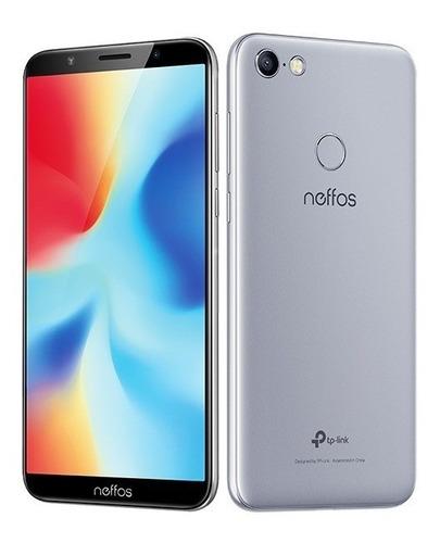 celular smartphone neffos c9a 5.45  pulgadas 4g 2gb 16gb gri