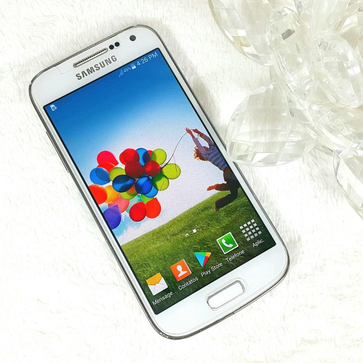 16527d2e4 celular smartphone samsung galaxy s4 mini duos gt i9192 ok ! Carregando  zoom.