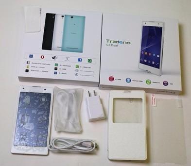 celular smartphone tradeno c3 dual doble sim