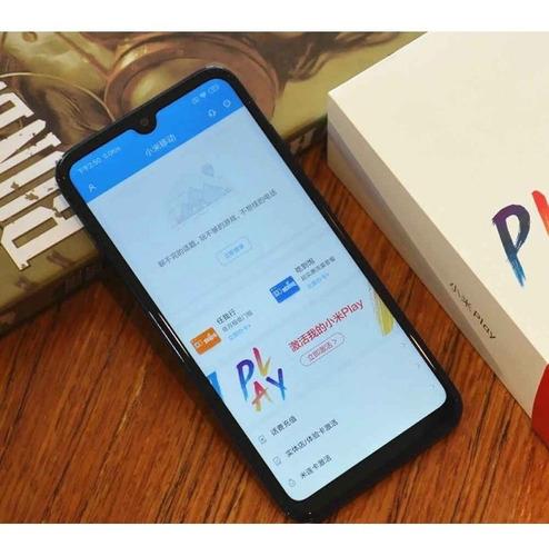 celular smartphone xiaomi mi play ds 5.84'' 4gb/64gb black