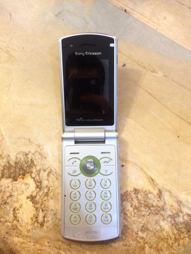 celular sony ericsson walkman - não liga com defeito!!