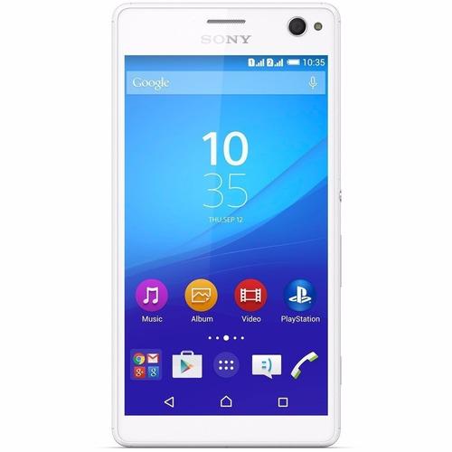celular sony xperia c4 dual e5343 desbloqueado branco