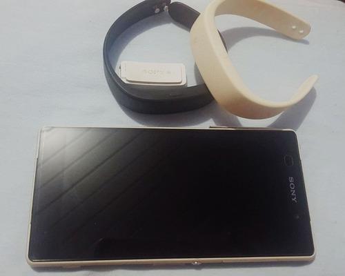 celular sony xperia z2 com smartband inteiro.