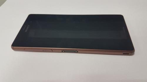 celular sony xperia z3 dual d6633 original novo vitrine