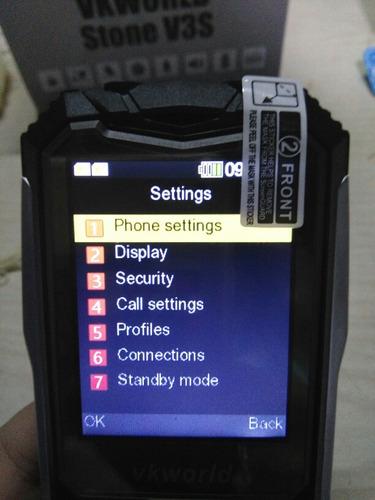 celular teclado grande 2,4' ip67/similcat30/libre/vkworld