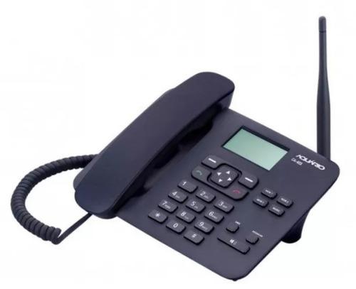 celular telefone de mesa aquario rural ca-40 frete gratis