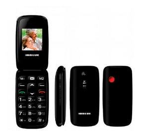 Celular Telefono Con Tapa Adulto Mayor Senior Dblue Ls10