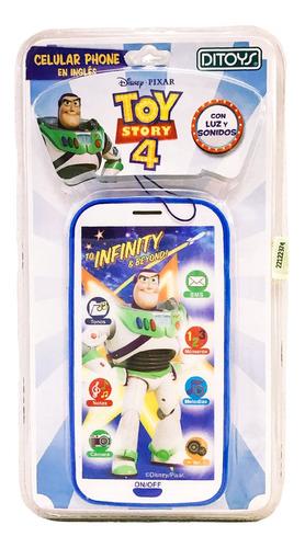 celular telefono toy story luz sonido cod 2256 bigshop