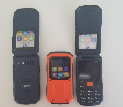 celular tipo flip marca drako