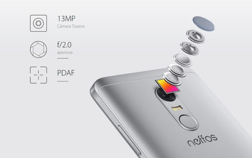 celular tp-link neffos x1 lite 5.0'' dual sim 4g lte dorado