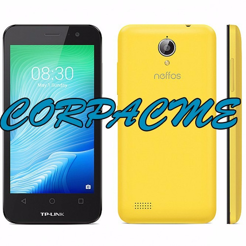 celular tplink neffos y5l android 6.0 5mp  8gbrom liberado
