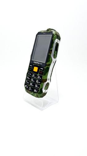 celular uso rudo naomi libre powerbank super linterna+regalo