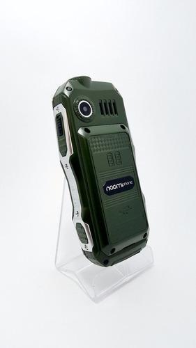 celular uso rudo naomi libre powerbank superlinterna+ regalo