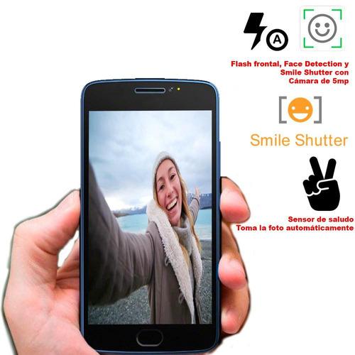 celular vak g5 2 sims pantalla 4,5 16gb flash frontal gps