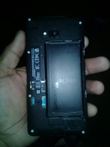 celular windows phone . modelo :microsoft limita 640 dual.