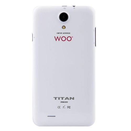 celular woo sp6040 titan + parlante + funda  ideal niño