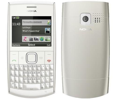celular x2-01 nokia camera qwerty x2 - novo