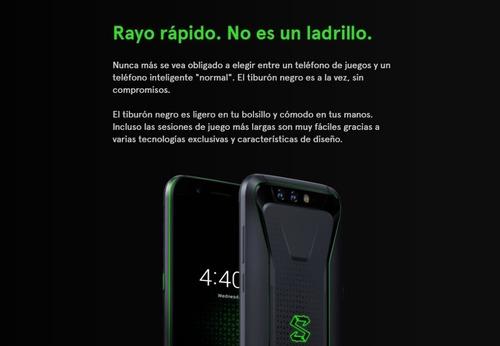 celular xiaomi black shark 128gb 8 ram 4g lte dual global