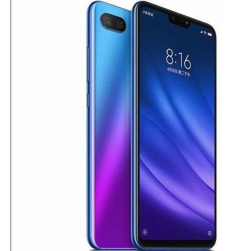 celular xiaomi mi 8 lite 128gb 6g ram azul capa+pelicula