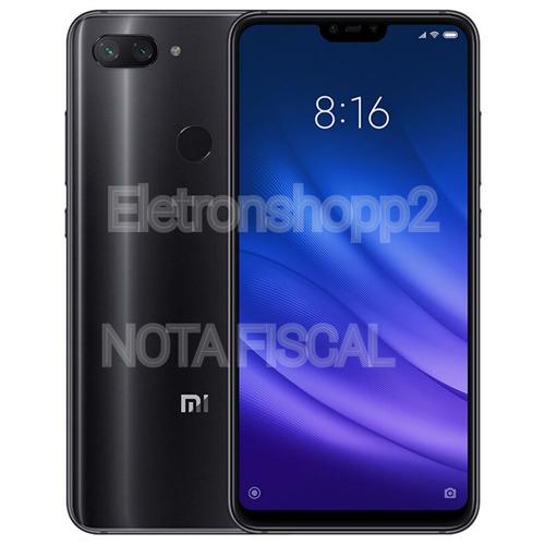 celular xiaomi mi 8 lite 64gb/4g/dual sim/+nota fiscal+capa