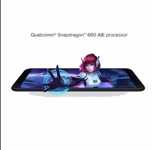 celular xiaomi mi a2 64gb 4gb ram novo/lacrado+capa+pelicula