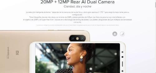 celular xiaomi mi a2 64gb 4gb ram version global dual sim