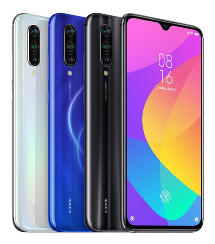 celular xiaomi mi9 lite 128gb 6gb global+capa - nf -curitiba