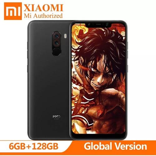 celular xiaomi pocophone f1 128gb global + capa pelicula nfe