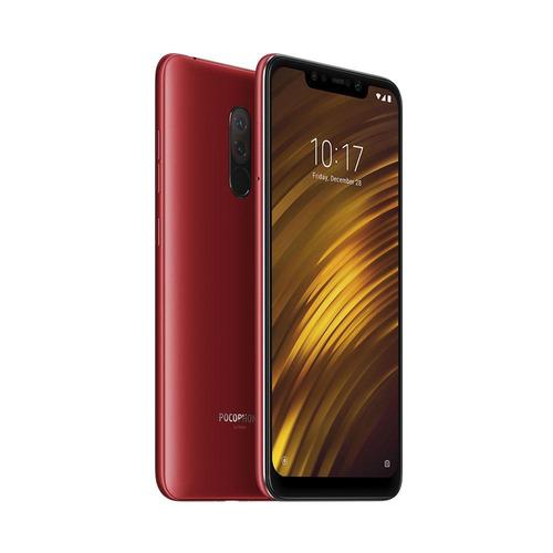 celular xiaomi pocophone f1 6 ram 128gb versión global rojo