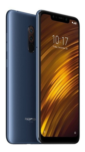 celular xiaomi pocophone f1 global 128gb 6gb + capa pelic