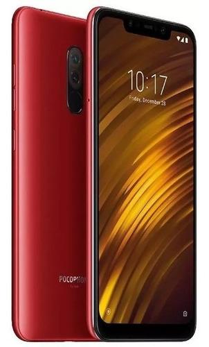 celular xiaomi pocophone f1 global 64gb 6gb + capa película