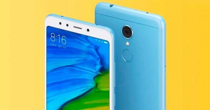7d72caed4ae Celular Xiaomi Redmi 5 Plus 4gb Ram Color Azul/negro + Envío ...