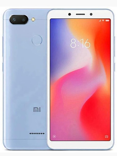 celular xiaomi redmi 6 64gb dual sim tela 5.45 original