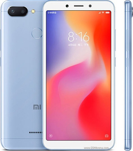 celular xiaomi redmi 6 android 8.1 (oreo) 64gb dual cámara
