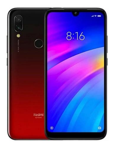 celular xiaomi redmi 7 32gb dual 4g tela 6.26 + capa/global