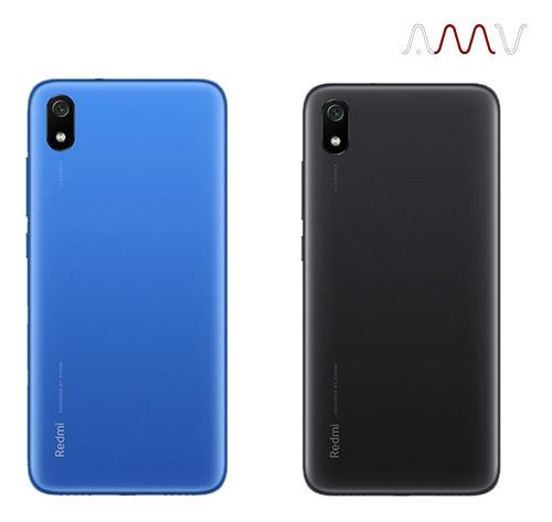 celular xiaomi redmi 7a 5,5 ips 32gb/2gb + auriculares amv